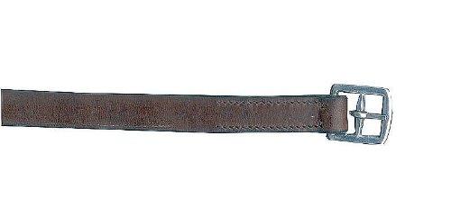AMKA Steigbügelriemen aus Leder für Kinder PONY/Shetty, kurz auch für Sattel für Holzpferd
