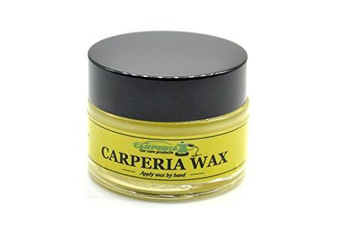 Carperia Fruits Autowachs für Autolack zur Autopflege und Lackversieglung / Carnaubawachs Autowax für Aufbereitung Hartwachs 25ml (Lemon)
