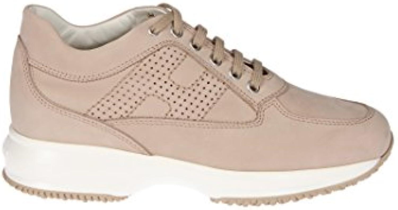 Hogan Mujer HXW00N00E30A8HC600 Beige Gamuza Zapatillas  Venta de calzado deportivo de moda en línea