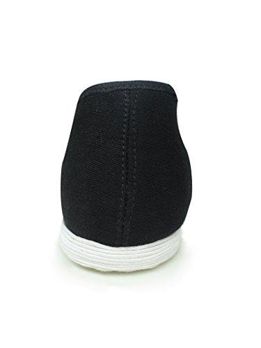 Lussuose Scarpe Cucite a Mano Kung Fu Arti Marziali Tai Chi – Suola in 8 Strati #101 Suola di cotone cucita a mano + copertura di gomma