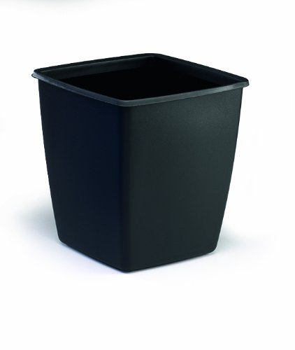 Durable 1701579221 Papierkorb Optimo, Füllvermögen 18 Liter, schwarz