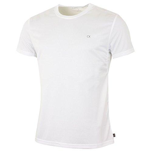 Calvin Klein Golf Hommes CK Technique T-Shirt - Blanc - L
