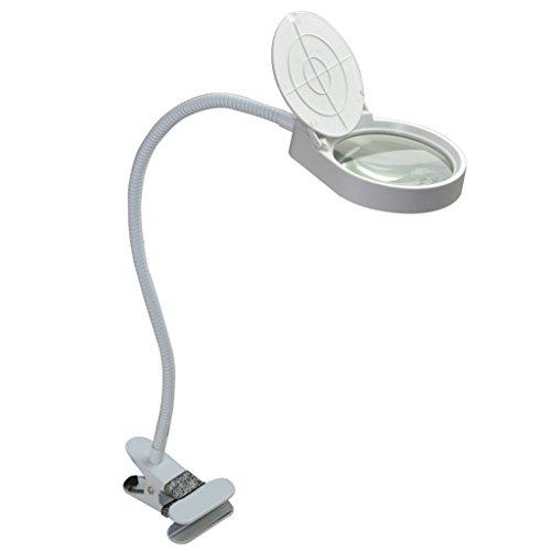 Tischplattenlupe, 3X Mit LED-Licht Handy-Handy-Reparatur-Test-Schmuck-Identifikation Ältere Lesung Lupe