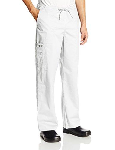Cherokee Premium Core Stretch Unisex Cargo Scrubs Hose - Weiß - X-Groß (Scrub Krankenschwester Frauen)