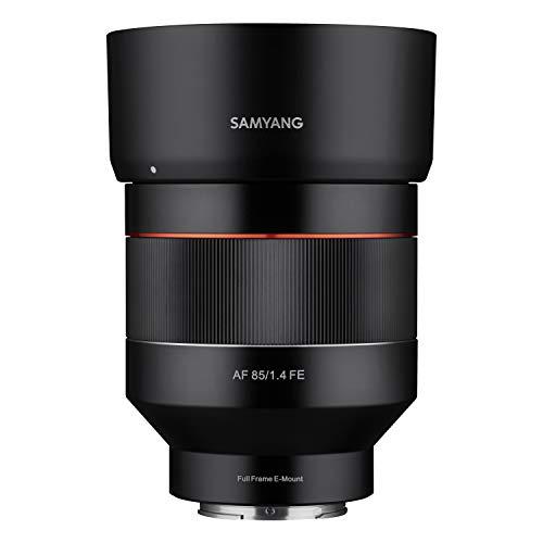 Samyang AF 85 mm F1.4 Sony FE – 85 mm lunghezza focale fissa autofocus pieno formato obiettivo per Sony Alpha Mirrorless e Reflex DSLR Full Format APS-C fotocamera con Sony E Mount, FE Mount
