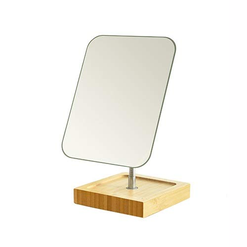 NL HD Plana del Espejo cosmético, Mesa de Maquillaje Espejo de baño - Espejo de baño de 360   Grados...