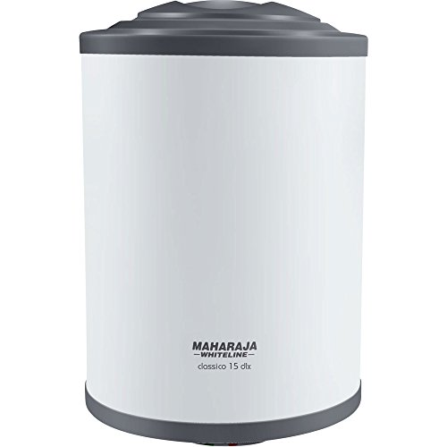 Maharaja Classico 15 Dlx 15-litres Water Heater (white/blue)