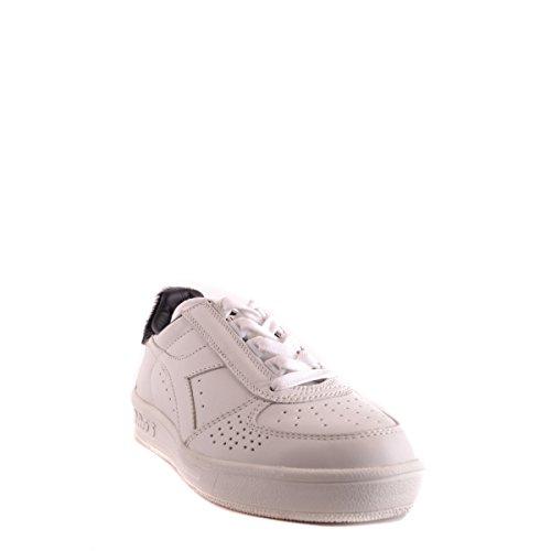 Diadora Heritage, Donna, B Elite Horsy Used Bianco Nero, Pelle, Sneakers, Bianco Bianco/Nero