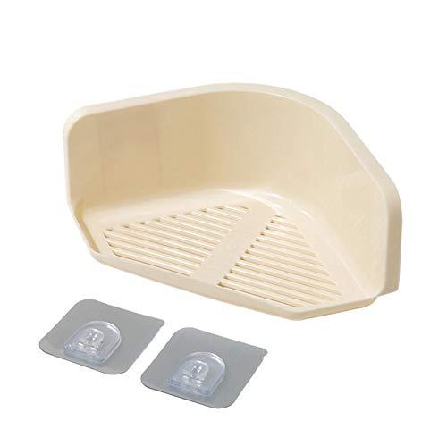 Julian Harries Limited Badezimmer Eckregal, Dreieck Rack große Kapazität Dusche Regal Rack Organizer (Beige) (Dusche Eck-regal Aus Marmor)