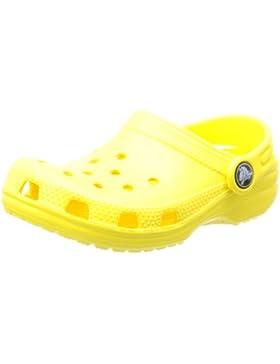 crocs Classic Kids, Zuecos Infantil, Amarillo (Sunshine), 24-26 EU (C8C9)