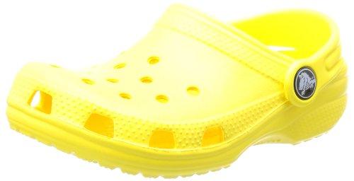 Crocs Classic Kids, Zuecos Unisex Niños, Amarillo