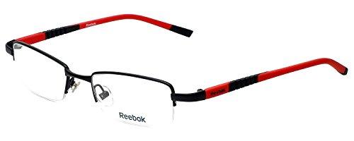 Reebok Designer Eyeglasses R1003 in Matte-Black 50mm Demo Lens