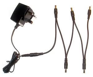 9v guitar effect pedal power supply 5 way daisy chain for digitech musical. Black Bedroom Furniture Sets. Home Design Ideas