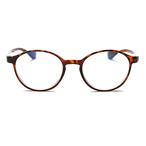 Inlefen Unisex Eyewear Anti Blue Light Brille Computer Lesen Brillen +1.0 +1.5 +2.0 +2.5 +3.0 +3.5 +4.0