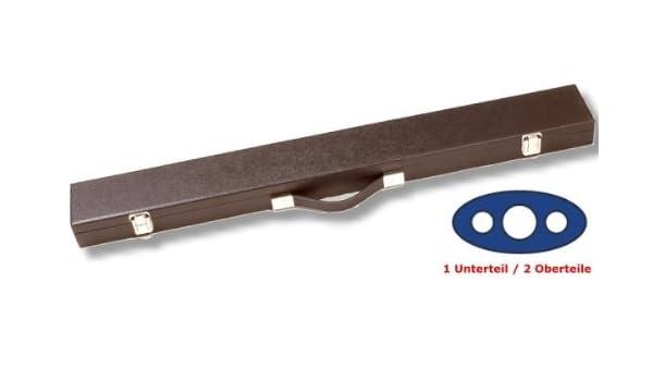 ACE Queue-Koffer Standard f/ür 1 Unterteil 2 Oberteile Farbe SCHWARZ