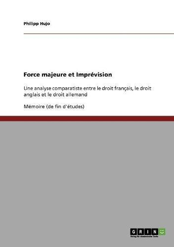 Force Majeure Et Imprevision