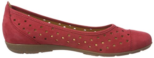 Casual Donna Ballerine Gabor Rot Rosso 4HqETd
