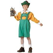 Disfraz tirolés niño. Talla 5/6 años.