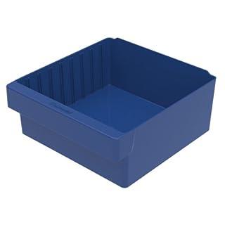 akro-mils 3111211–5/8L von 11–1/8W von 4–5/8H akrodrawer Kunststoff Schublade, blau, Fall von 4