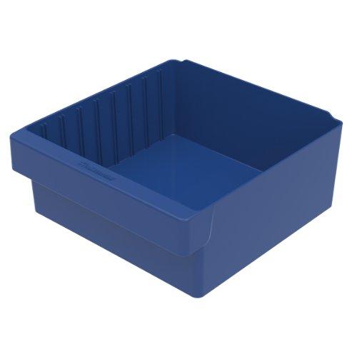 akro-mils 3111211-5/8L von 11-1/8W von 4-5/8H akrodrawer Kunststoff Schublade, blau, Fall von 4 11.625