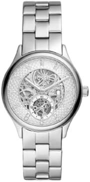 ساعة فوسيل مودرن سوفيستيكات للنساء من الستانليس ستيل - فضي - BQ3649