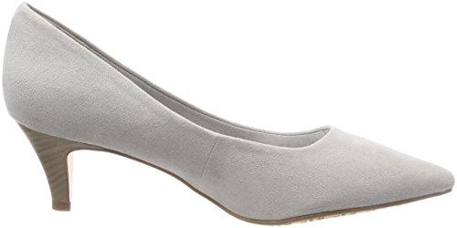 Tamaris 22415, Zapatos De Mujer Con Tacón Gris (gris)
