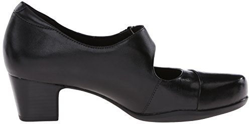 Pompa Clarks Rosalyn Wren Black Leather