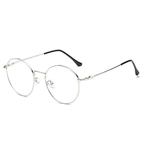 Blaulicht-Schutzbrille Anti-Augenmüdigkeit Brillen Klare Linse Runde Vollrandbrille Computer Read Glasses-1