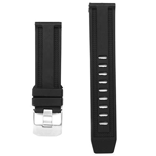 ROUHO Ersatz-Gummi 23Mm Wristband Rubber Watch Strap Für Die Luminox Black Ops Serie 8800 8802 8800-serie