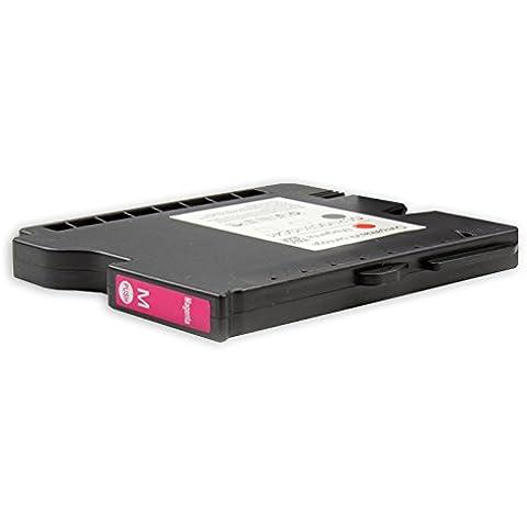 Compatibile per Ricoh Aficio GX 2500 Cartuccia di inchiostro gel 405534 GC21 Magenta 64 ml