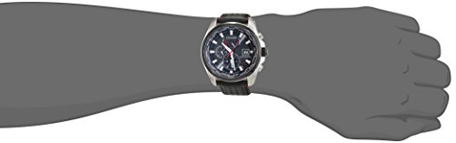 Citizen Herren-Armbanduhr Analog Quarz Leder AT9036-08E -