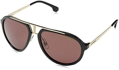 Carrera Unisex-Erwachsene 1003/S W6 2M2 Sonnenbrille, Schwarz (BLACK GOLD/BURG PZ AR), 58