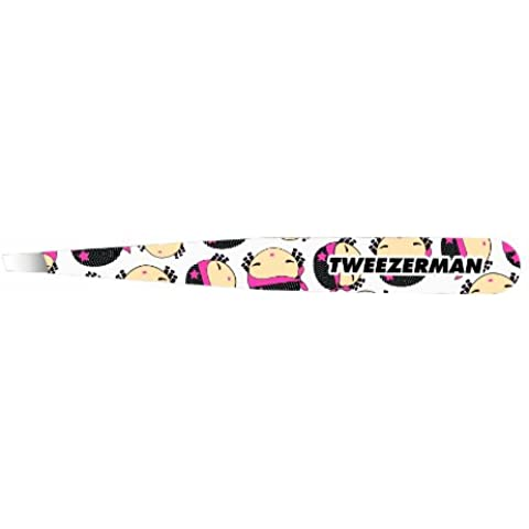 Tweezerman - Pinzette per sopracciglia a punta inclinata, Harajuku Lovers