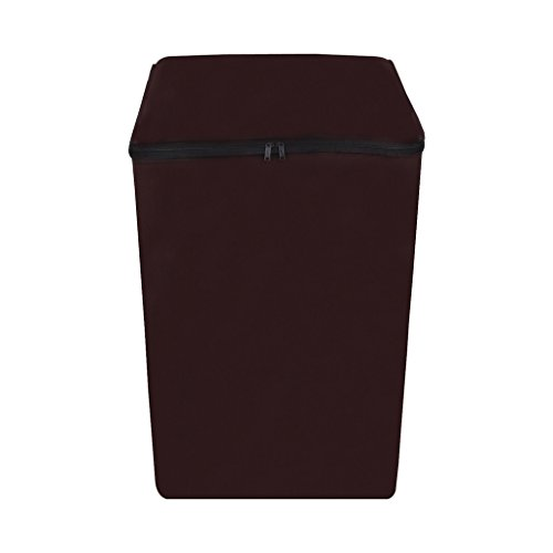 Dream Care Waterproof & Dustproof Washing Machine Cover For LG Fully Automatic Top Load T7567TEELH 6.5Kg- Coffee