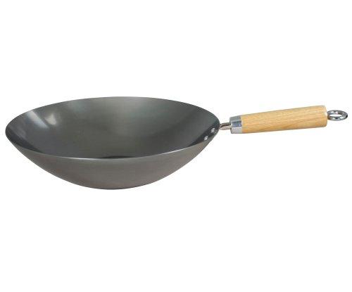 Swift Spice - Wok (acero al carbón de gran grosor, 30 cm)