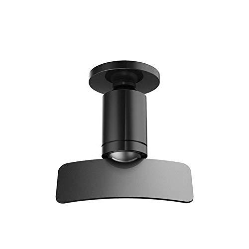 alterung, 360-Rotation-Handy-Autohalterung Ständer Belüftungshalterung Halterung Für Handy Telefon Schreibtisch Tablet GPS, Schwarz ()
