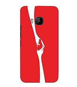 EPICCASE Helping Hand Mobile Back Case Cover For HTC One M9 (Designer Case)
