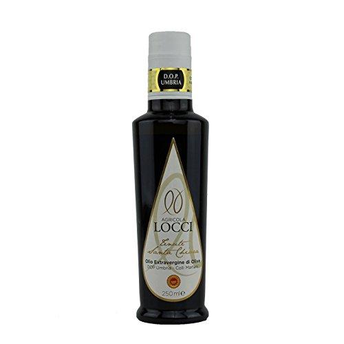 Olio extravergine di oliva tenute santa chiara dop umbria colli martani (250ml)|