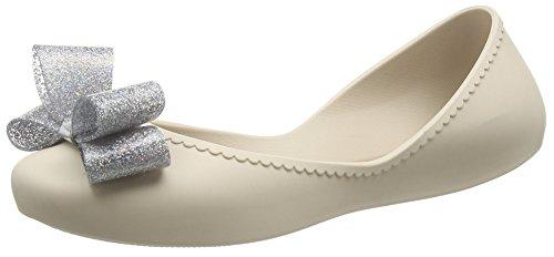 Zaxy Start Glitter Bow - Ballerines femme Beige (Ivory)