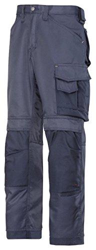 """Snickers Workwear - pantaloni da lavoro """"DuraTwill"""", 1 pezzo, taglia 42, grigio, 33121818042 navy-navy"""