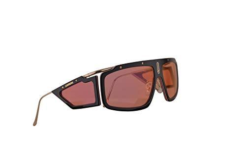 Carrera Facer Sonnenbrille Schwarz Havana Mit Rotten Verspiegelten Gläsern 62mm WR7UZ