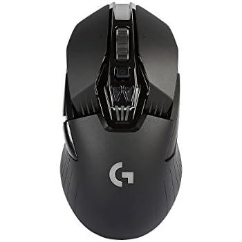 Logitech G900 Mouse da Gioco Wireless, Chaos Spectrum, Nero