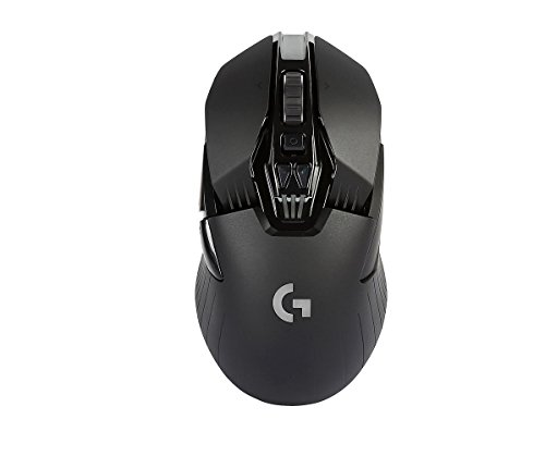 Foto Logitech G900 Mouse da Gioco Wireless, Chaos Spectrum, Nero