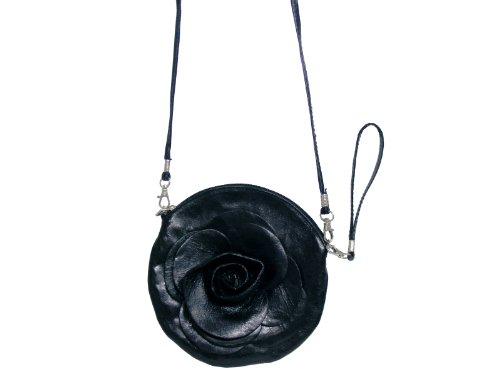 scarlet bijoux, Borsa a tracolla donna Nero (nero)