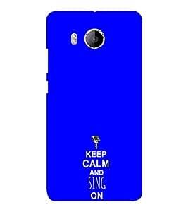 EPICCASE Sing on Mobile Back Case Cover For VIVO X shot (Designer Case)