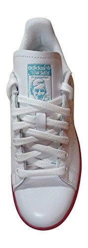 adidas Originals Stan Smith - Scarpe da Ginnastica Basse Donna white bright pink AQ4577