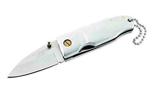 Herbertz Messer Mini-Messer, rostfrei, Aluminium-Schalen, grau, M, 1010139410
