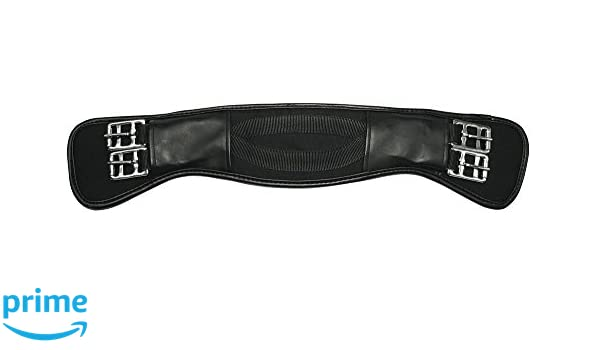 Kerbl Unisexs 32435 Curved Saddlegirth 140 cm Black