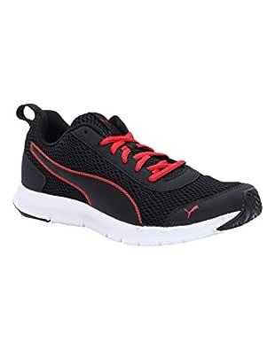 PUMA Men's Rapid Runner IDP Black-High Risk Red Sneakers-10 UK/India (44.5 EU) (4060979705449)