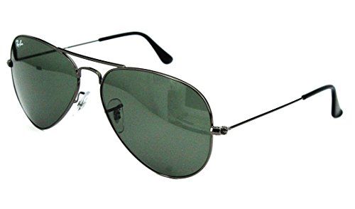 Preisvergleich Produktbild Ray Ban Sonnenbrille / Sunglasses RB3025 Aviator Large Metal W3350 58[]14 3N Etui *H